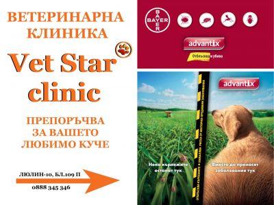 билборд - VET STAR CLINIC - София, Люлин